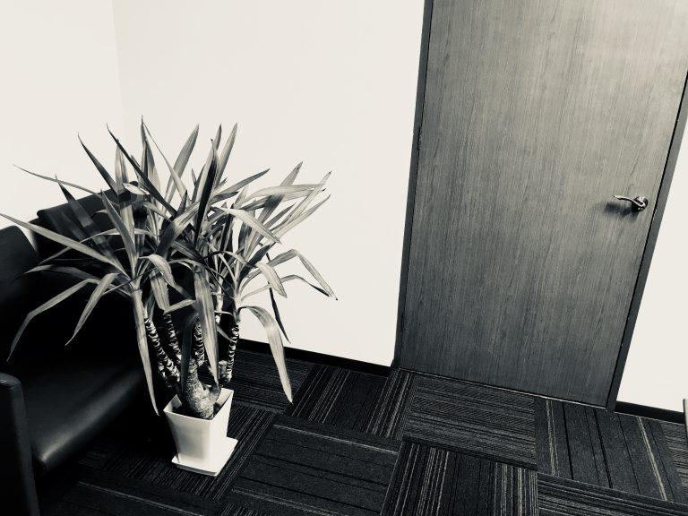 事務所応接室のようすです。③